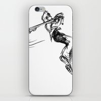 kingdom hearts iPhone & iPod Skins featuring Roxas KINGDOM HEARTS by DarkGrey Heroine