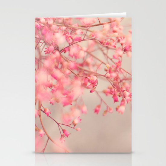 Coral Bells Stationery Cards