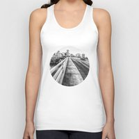nashville Tank Tops featuring Road to Nashville by GF Fine Art Photography