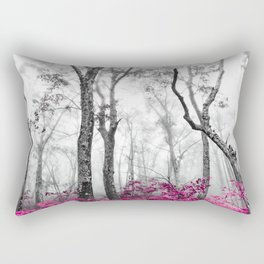Princess Pink Forest Garden Rectangular Pillow