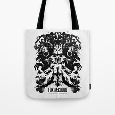 Fox McCloud Star Fox Inspired Geek Psychological Inkblot Tote Bag