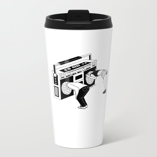 Radiohead Metal Travel Mug