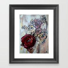 Roses4422 Framed Art Print