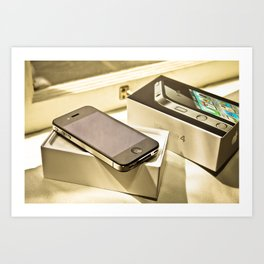 iPhone 4 Art Print