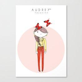 AUDREY SIRI II Canvas Print