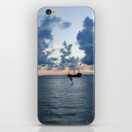 Sailing Clouds iPhone Skin