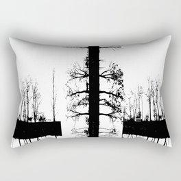 Trees in Transition Rectangular Pillow