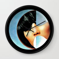 architecture Wall Clocks featuring Architecture by Hugo Barros