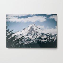 Mount Hood X Metal Print