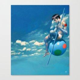 """""""Le solitaire"""" Canvas Print"""