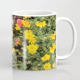 Flower Contrast Coffee Mug