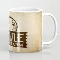 hyrule Mugs featuring Hyrule Poultry Farms by Drake Sauer