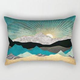 Peacock Vista Rectangular Pillow
