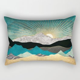 Peacock Vista Rectangular Pillow