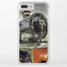 Steam Locomotive 4936 Kinlet Hall Clear iPhone Case