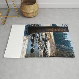 Mississippi Headwaters in December Rug