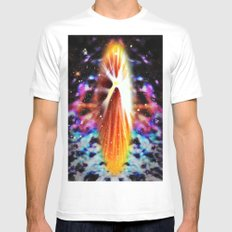 Star Soul Mens Fitted Tee MEDIUM White