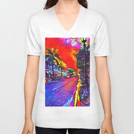 Key West Unisex V-Neck
