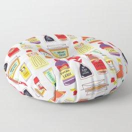 Asian Seasonings Floor Pillow