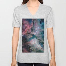 Carina Nebula - The Spectacular Star-forming Unisex V-Neck