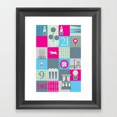 Stuff from SW3  Framed Art Print
