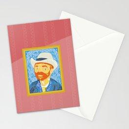 Selfie Van Gogh Stationery Cards