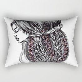 GIRLZ - COFFEE Rectangular Pillow