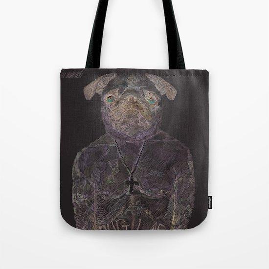 2 pug Tote Bag