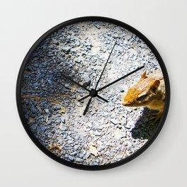 Blended into light spots Wall Clock