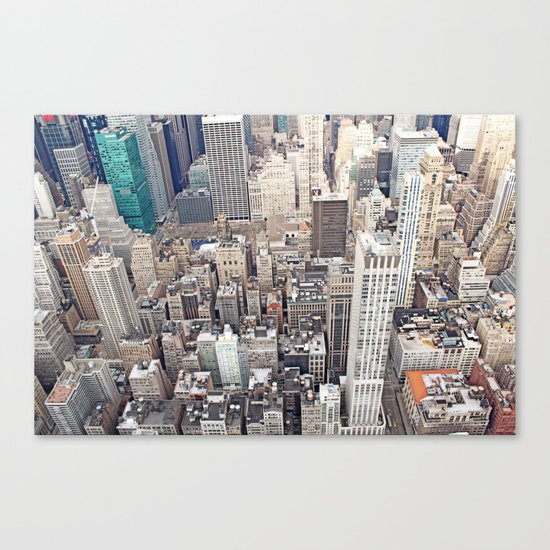 New York City color Canvas Print