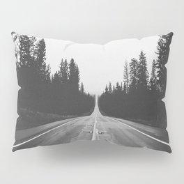 Grey road Pillow Sham