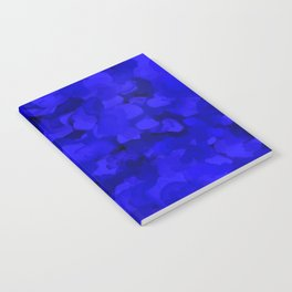 Rich Cobalt Blue Abstract Notebook