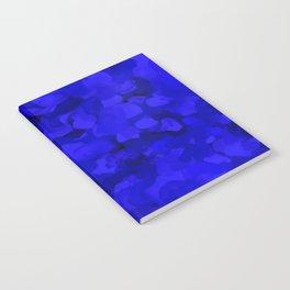 Rich Cobalt Blue Abstract Notebook