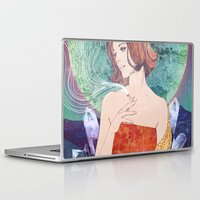 diamonds Laptop & iPad Skins featuring Diamonds by Ryan Haran