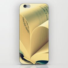 Open Book iPhone & iPod Skin