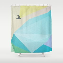 human edge #2 Shower Curtain