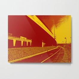 Bridge 14 Metal Print