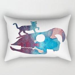 Cat Art Rectangular Pillow