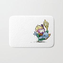 Inktober Aquaman Bath Mat
