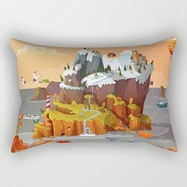 L'île aux copains automne/hiver Rectangular Pillow