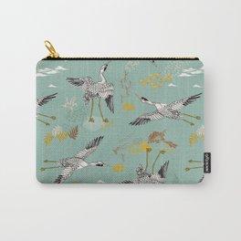 Pájaros menta Carry-All Pouch