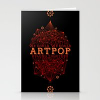 artpop Stationery Cards featuring Artpop by Mario Ezquerra