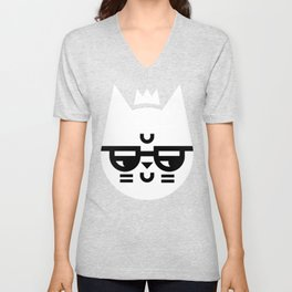 Cynical Cat Unisex V-Neck