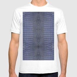 Cobalt Alligator Print T-shirt