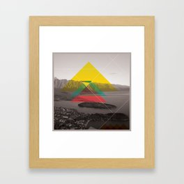 Sojourn series - Queenstown Framed Art Print