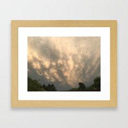 Stormy Clouds - Mammatus Framed Art Print
