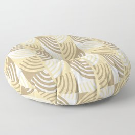 Sand Shades. Abstract pattern Floor Pillow