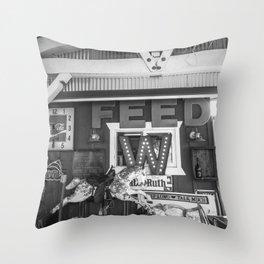Vintage Horse Throw Pillow