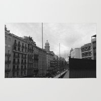 barcelona Area & Throw Rugs featuring Barcelona. by Michaëlis Moshe