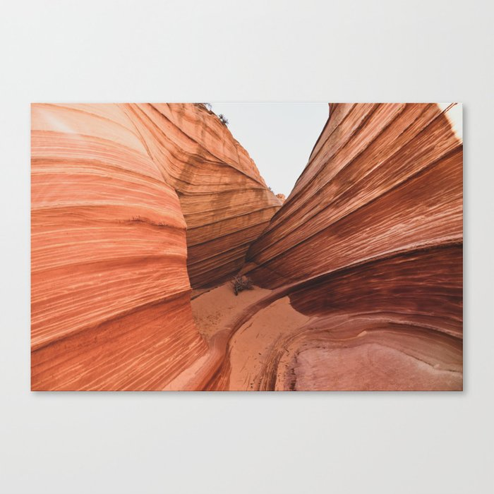 The Wave Enclave ll Canvas Print